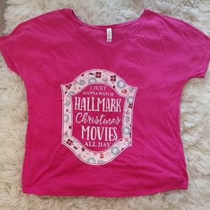Hallmark Christmas movies t-shirt